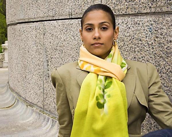 Showl-Fine wool shaw Yellow-Green