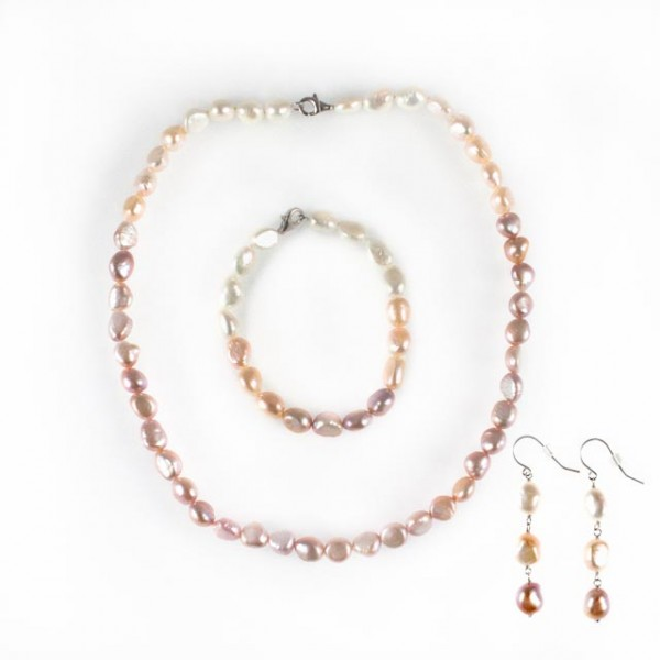 Pearl Necklace Set of 3
